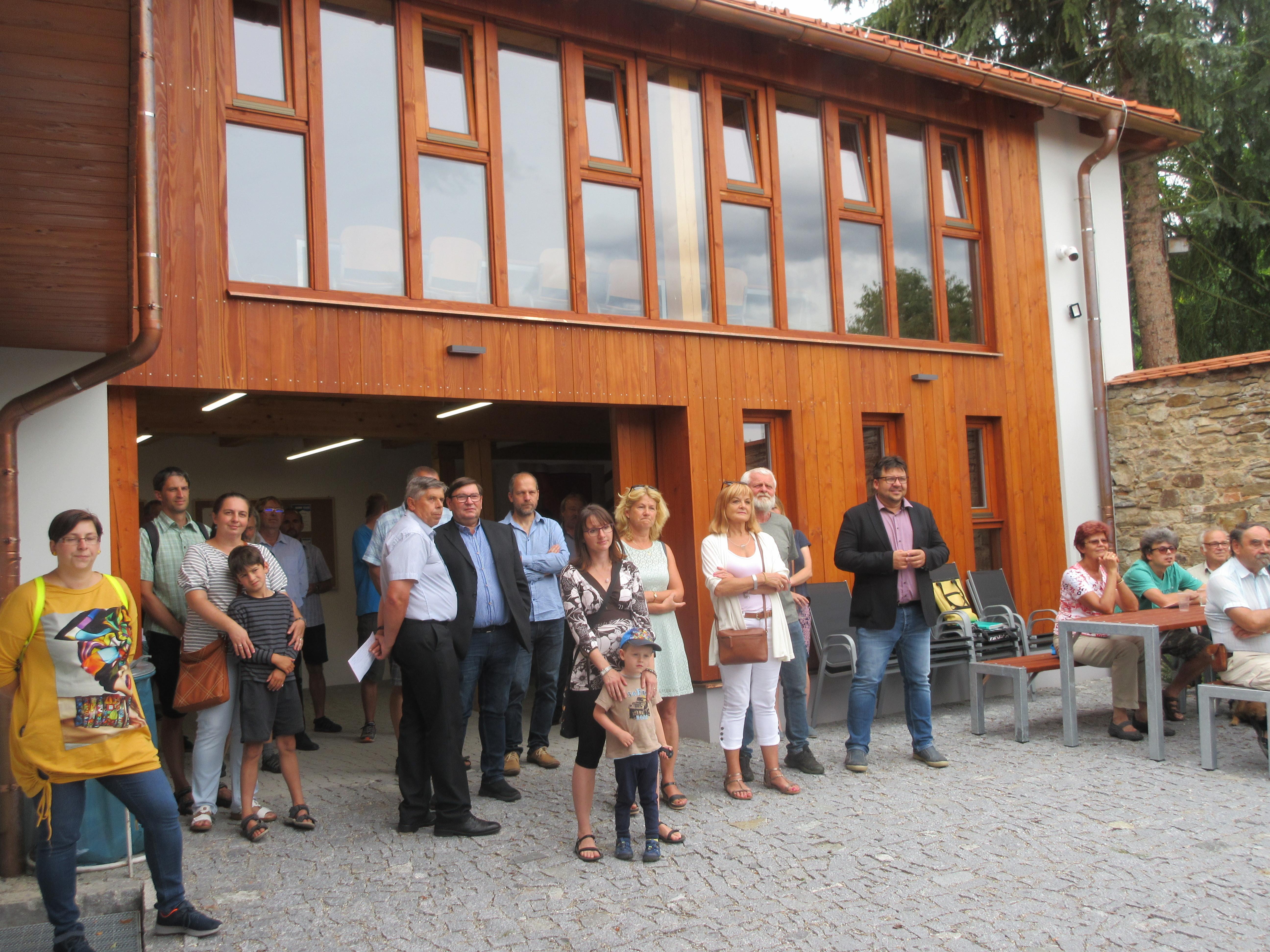 Slavnostní otevření Komunitního centra Vltavotýnska